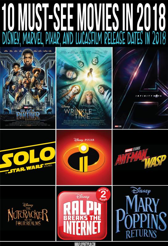 10 Filem Disney yang mesti dilihat pada 2018