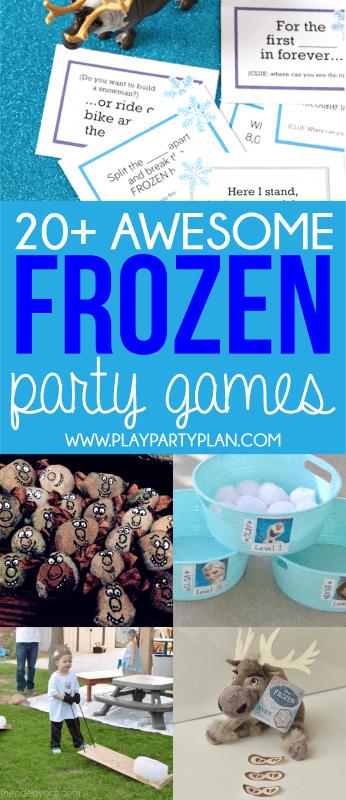 Jeux Disney Frozen pour tous les âges