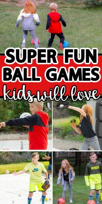 Linksmi kamuolio žaidimai, kad vaikai judėtų