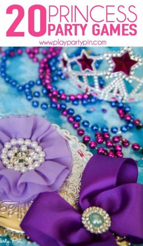 Juegos de fiesta de princesas que a las chicas les encantarán
