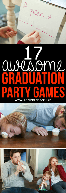Hilarious Graduation Party Games