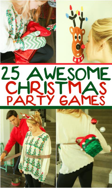 25 zabawnych minut na wygranie świątecznych gier