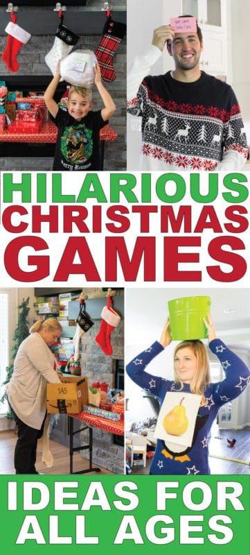 45 de los juegos de fiesta de Navidad más entretenidos