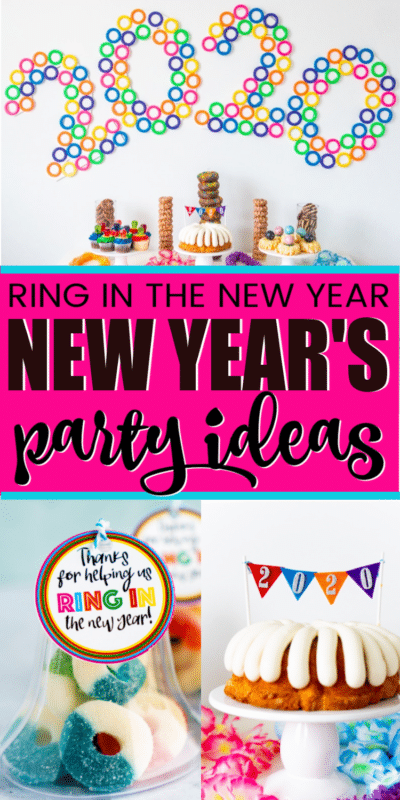 Ring in the New Year Party Ideas