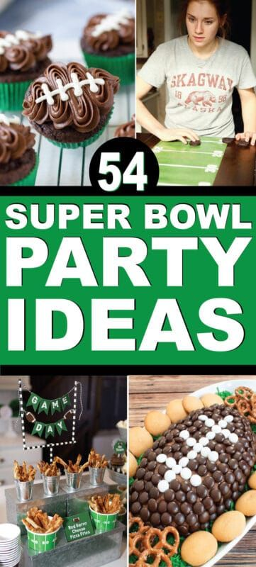 54 Strålende Super Bowl Party Idéer til Super Bowl LIV