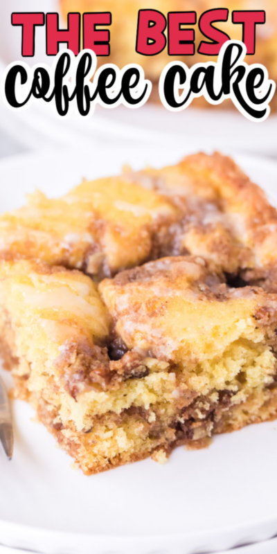 Easy Cinnamon Streusel Coffee Cake