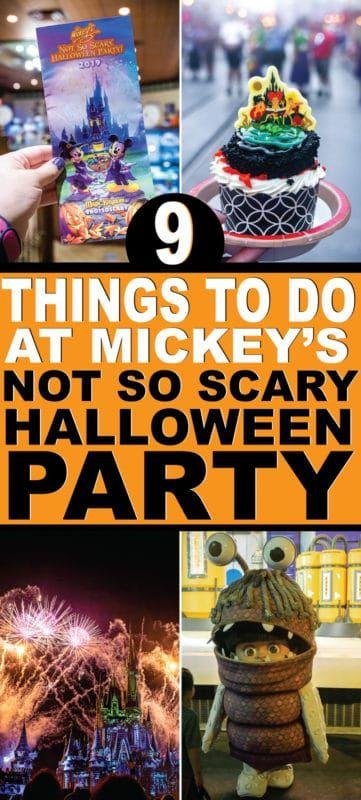 9ミッキーのそれほど怖くないハロウィーンパーティーでやるべきことを見逃してはいけない