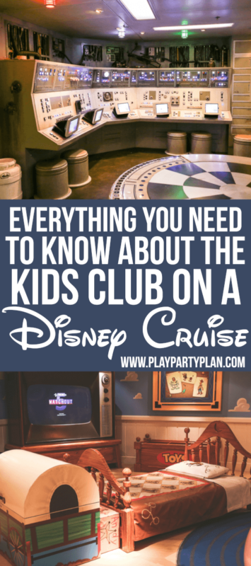 Disney Cruise Kids Club para sa mga Preschooler