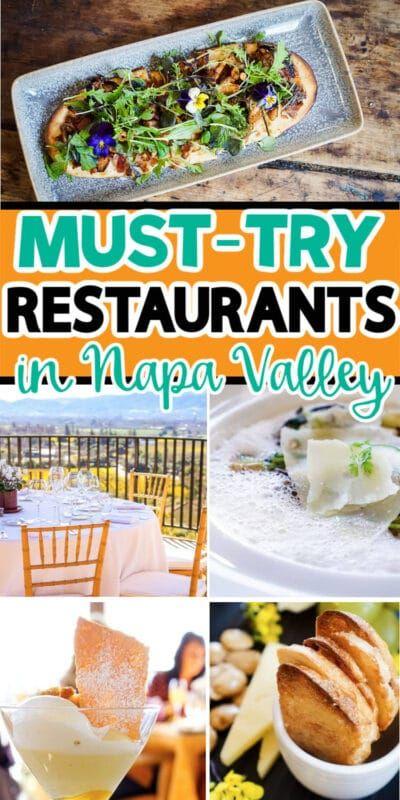 Mejores restaurantes en Napa Valley
