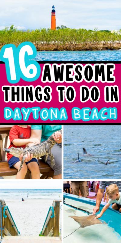16 cosas divertidas para hacer en Daytona Beach