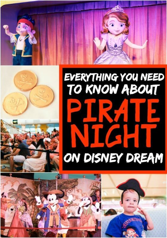 "Įdomūs būdai švęsti ""Disney Pirate Night"" per ""Disney Dream"""